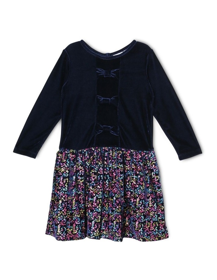 Harriet Velour Dress (3-8 Years) image 1