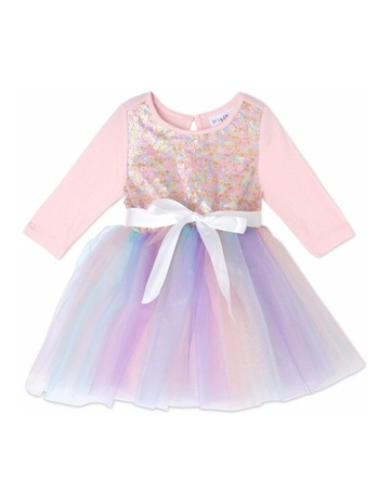 6b7f6e1cb Origami Rainbow Tutu Dress (0-2 Years)