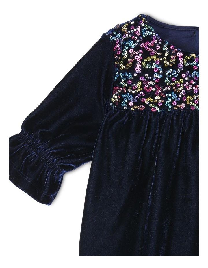 Harriet Velour Dress (0-2 Years) image 2