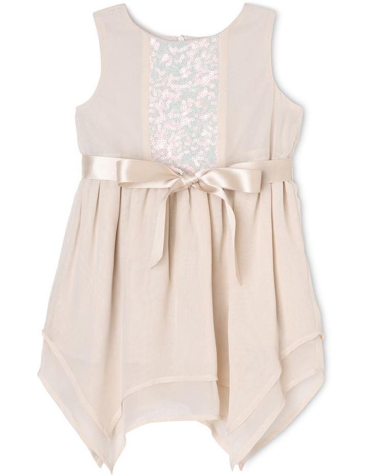 Margot Sequin Bodice Chiffon Dress (0-2 Years) image 1