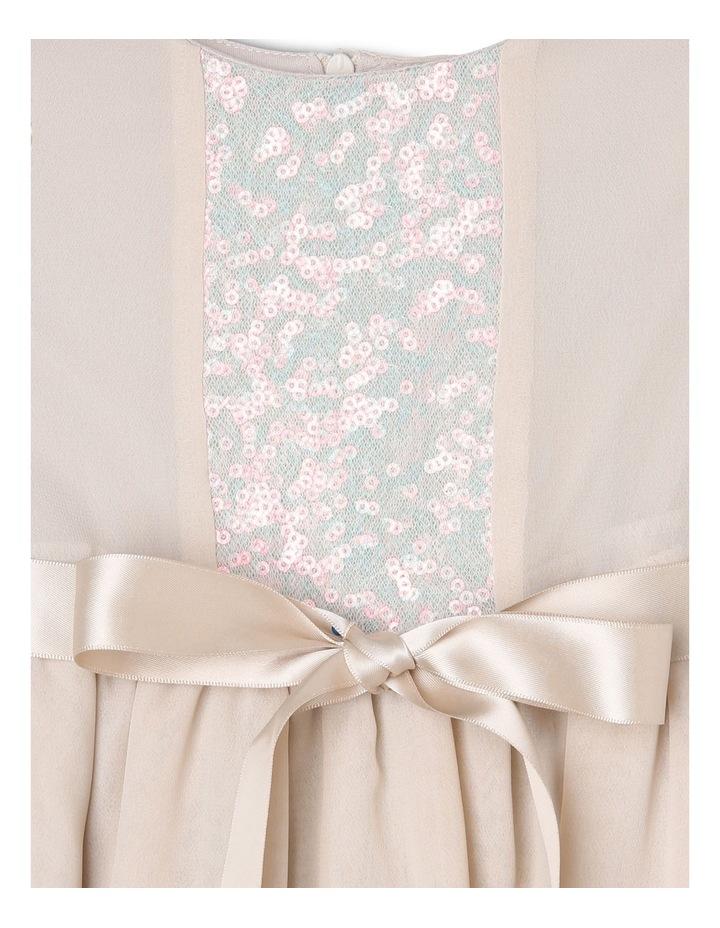 Margot Sequin Bodice Chiffon Dress (0-2 Years) image 3