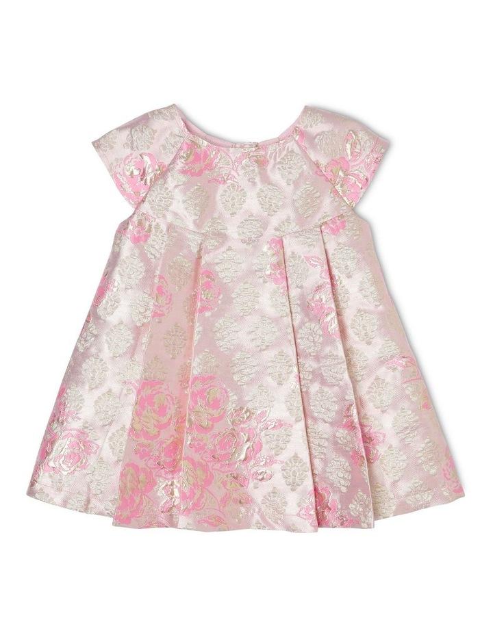 Poppy Gold Lurex Dress (0-2 Years) image 1
