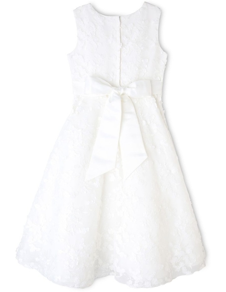 White Label Lace Flower Girl Dress (9-16 Years) image 2