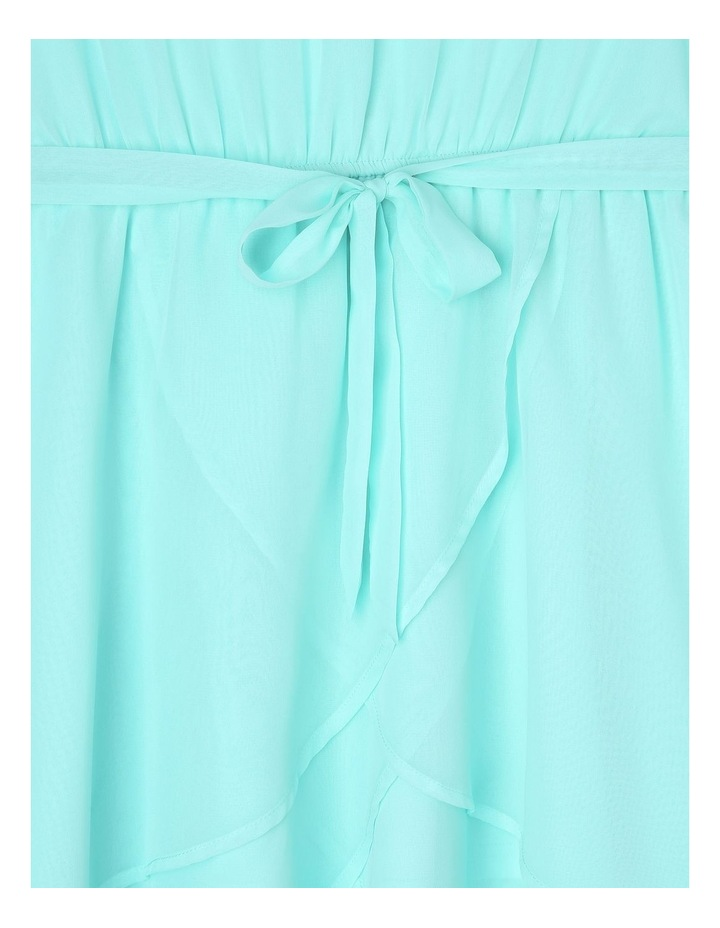 Isla Mint Layered Chiffon Dress (9-16 Years) image 3