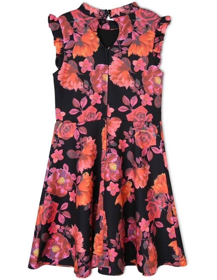 Iris Floral Scuba Dress (9-16 Years) image 2