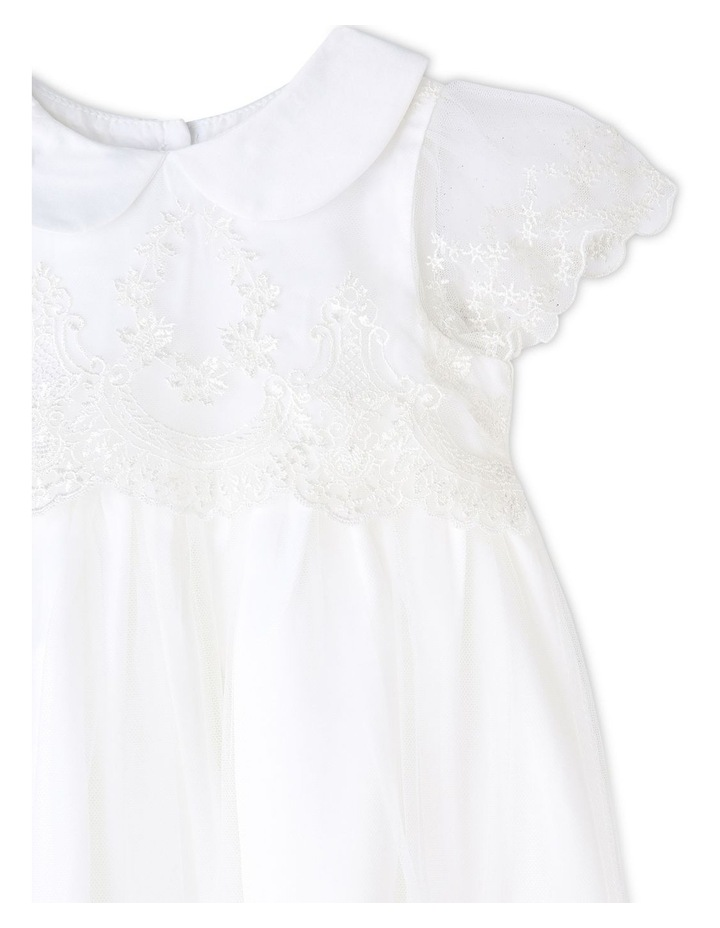 White Label Christening Gown (0-2 Years) image 2