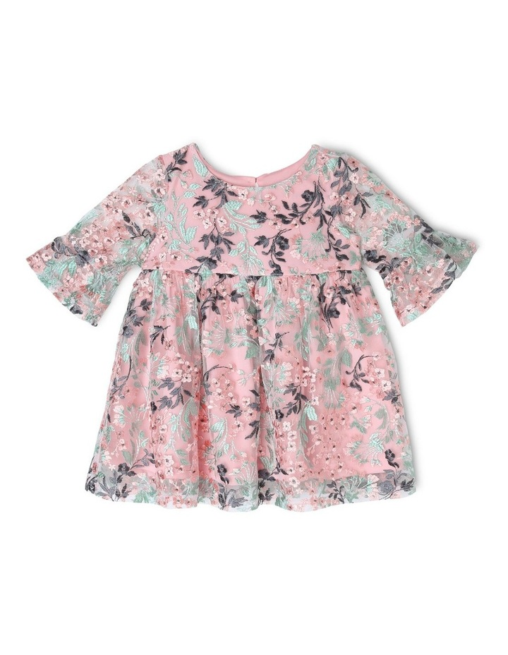 Sienna Floral Embroidered Dress (0-2 Years) image 1