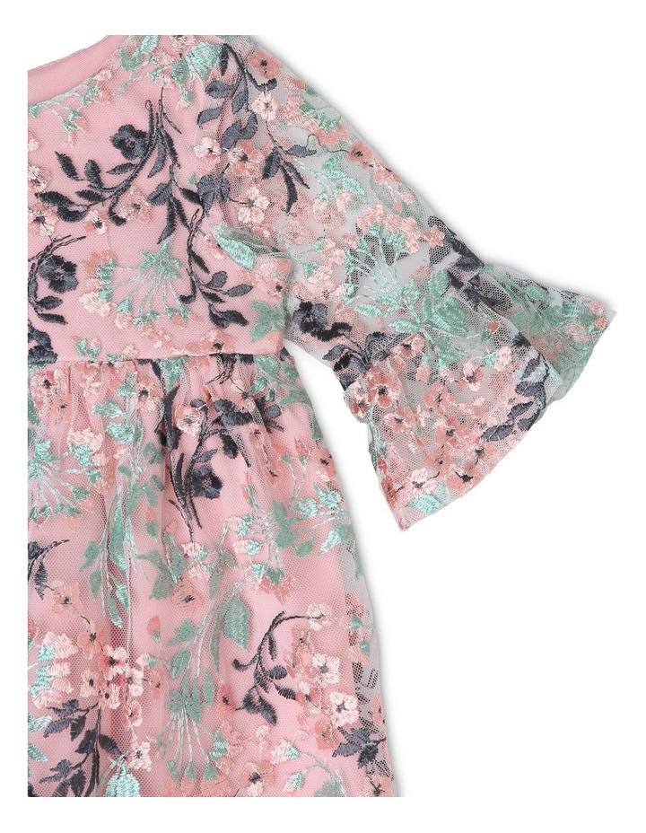Sienna Floral Embroidered Dress (0-2 Years) image 2