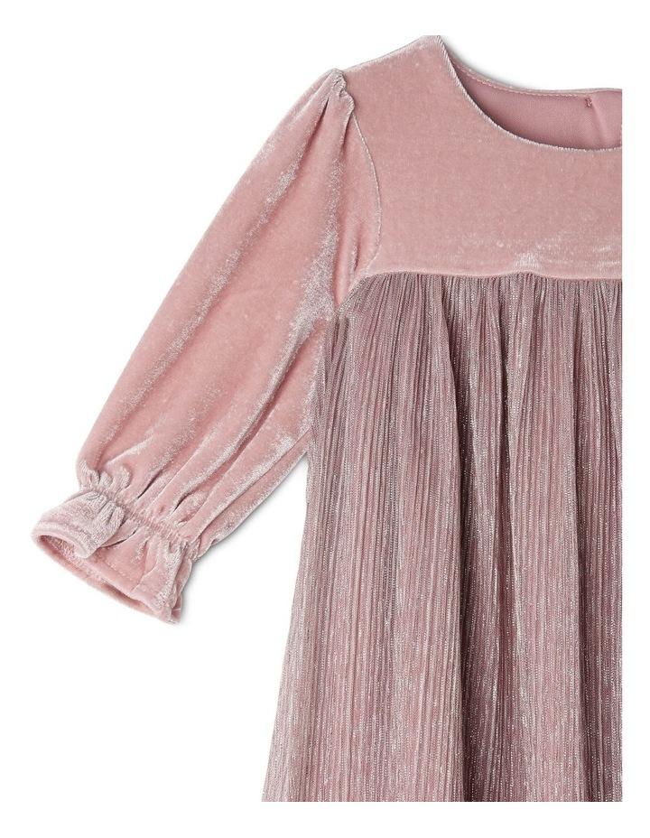 Bella Velour Dress (0-2 Years) image 2