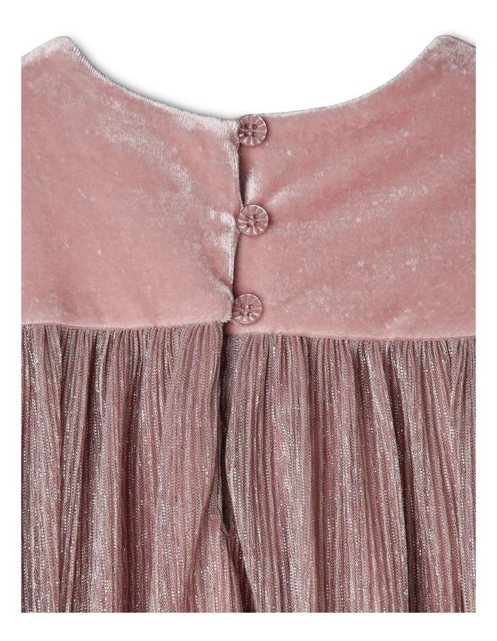 Bella Velour Dress (0-2 Years) image 3