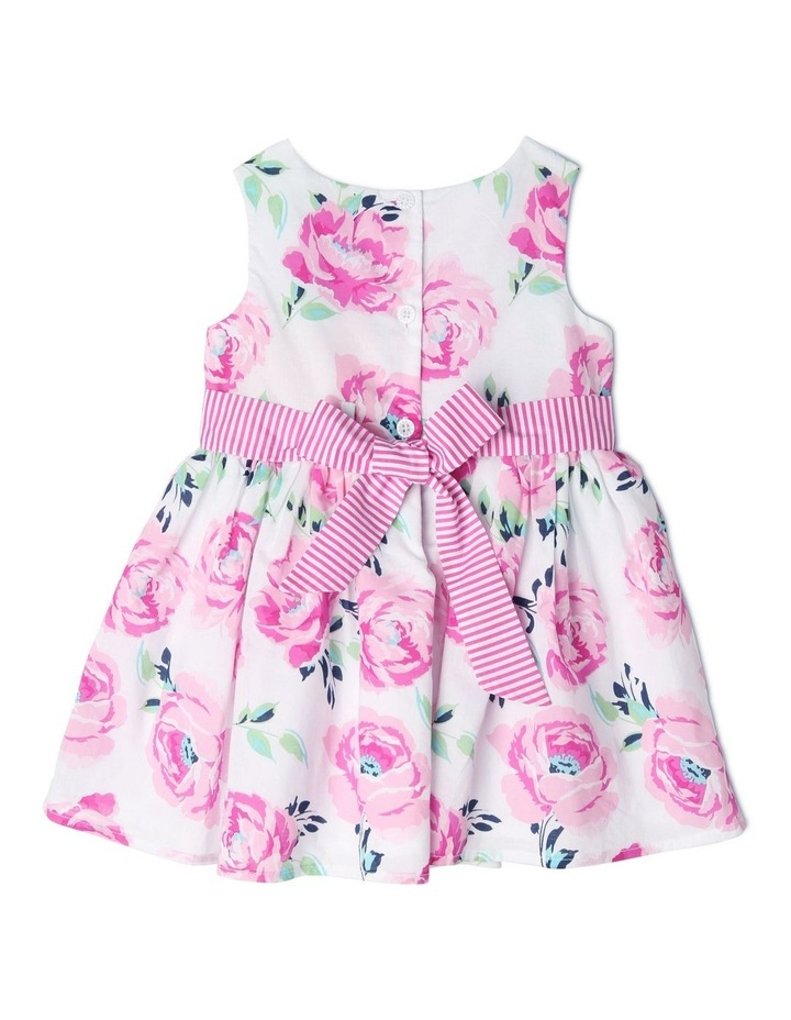 Viola Woven Floral Party Dress (0-2 Years) image 2