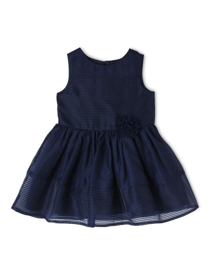 Maddison Woven Stripe Dress (0-2 Years) image 1