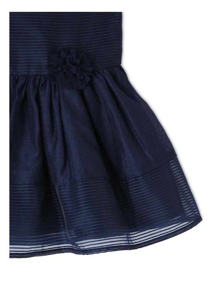 Maddison Woven Stripe Dress (0-2 Years) image 3
