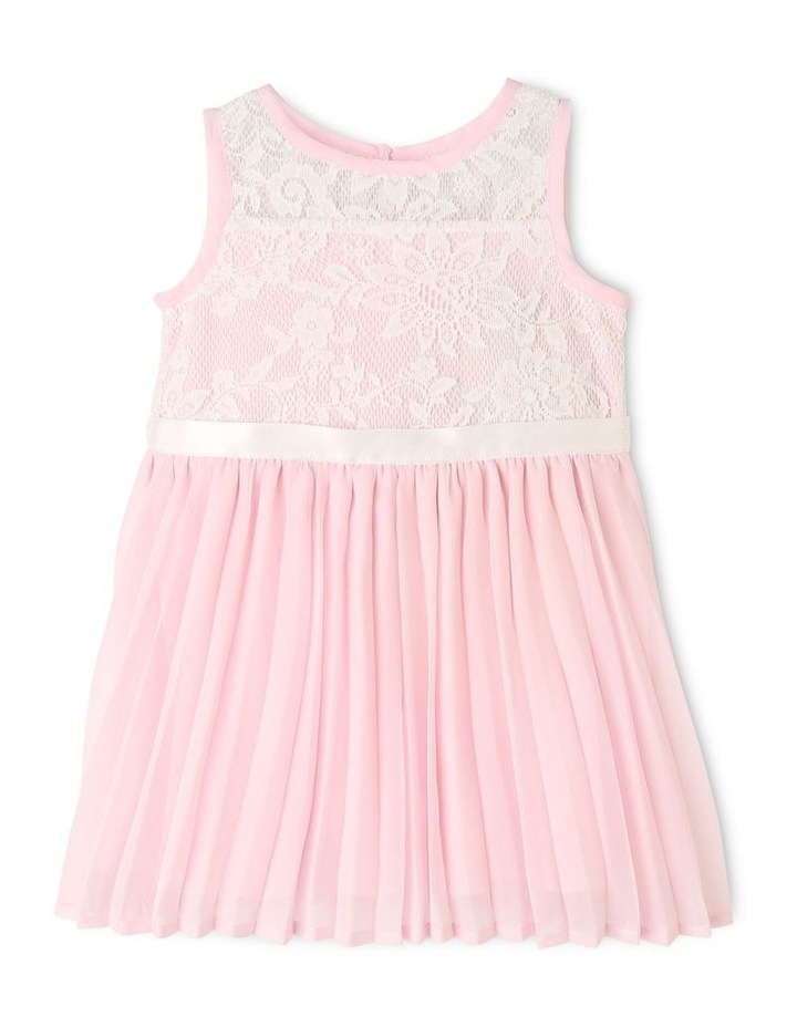 Aurora Lace and Diamonte Woven Dress (0-2 Years) image 1