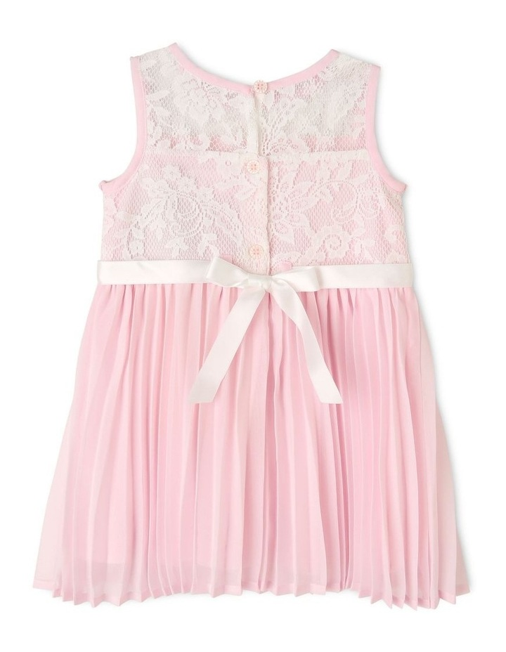 Aurora Lace and Diamonte Woven Dress (0-2 Years) image 2
