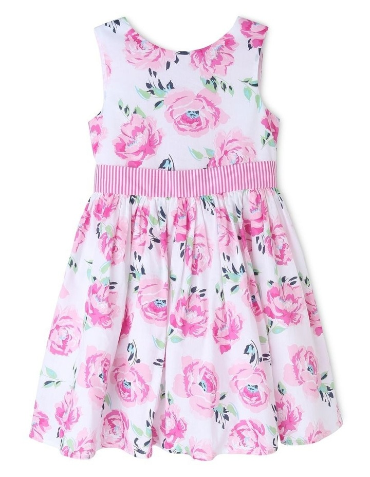 Viola Woven Floral Dress (3-8 Years) image 1