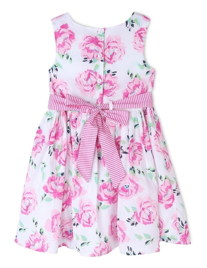 Viola Woven Floral Dress (3-8 Years) image 2