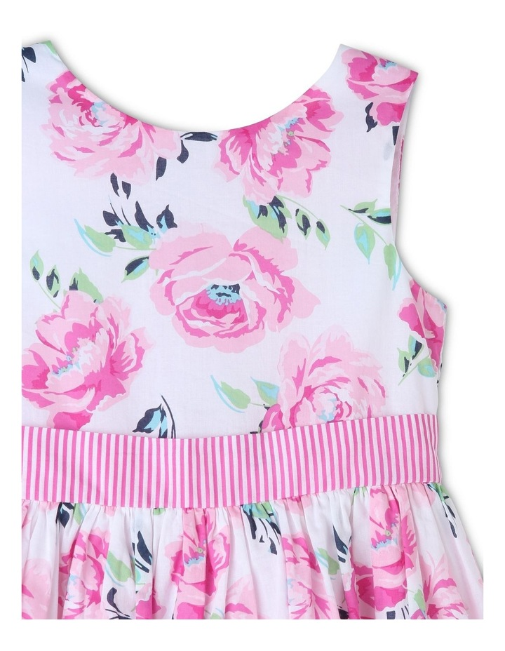 Viola Woven Floral Dress (3-8 Years) image 3