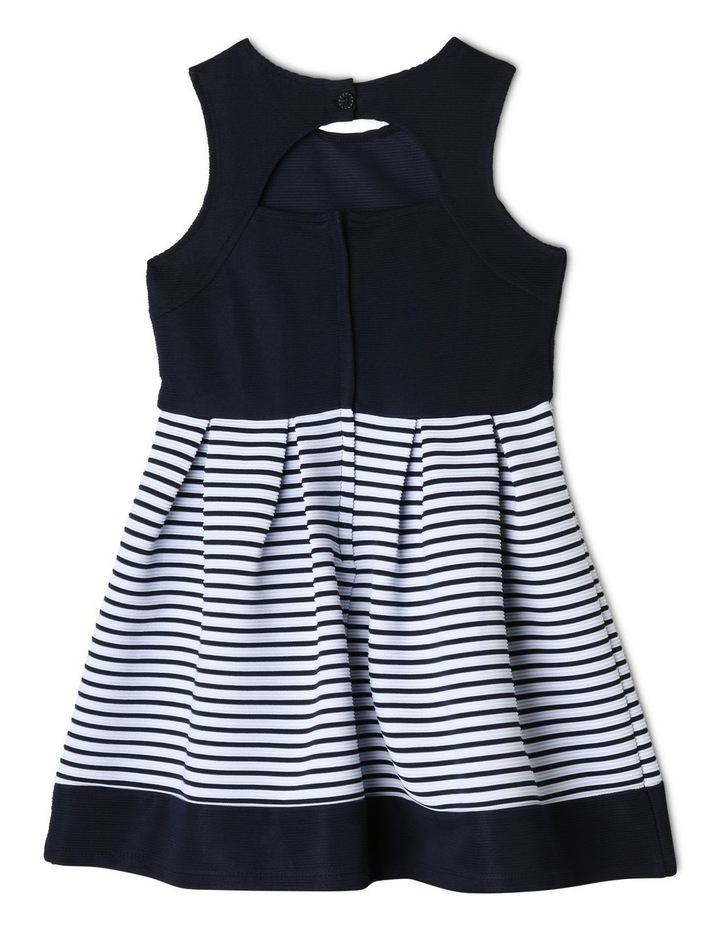 Annabelle Knitted Stripe Dress (3-8 Years) image 2