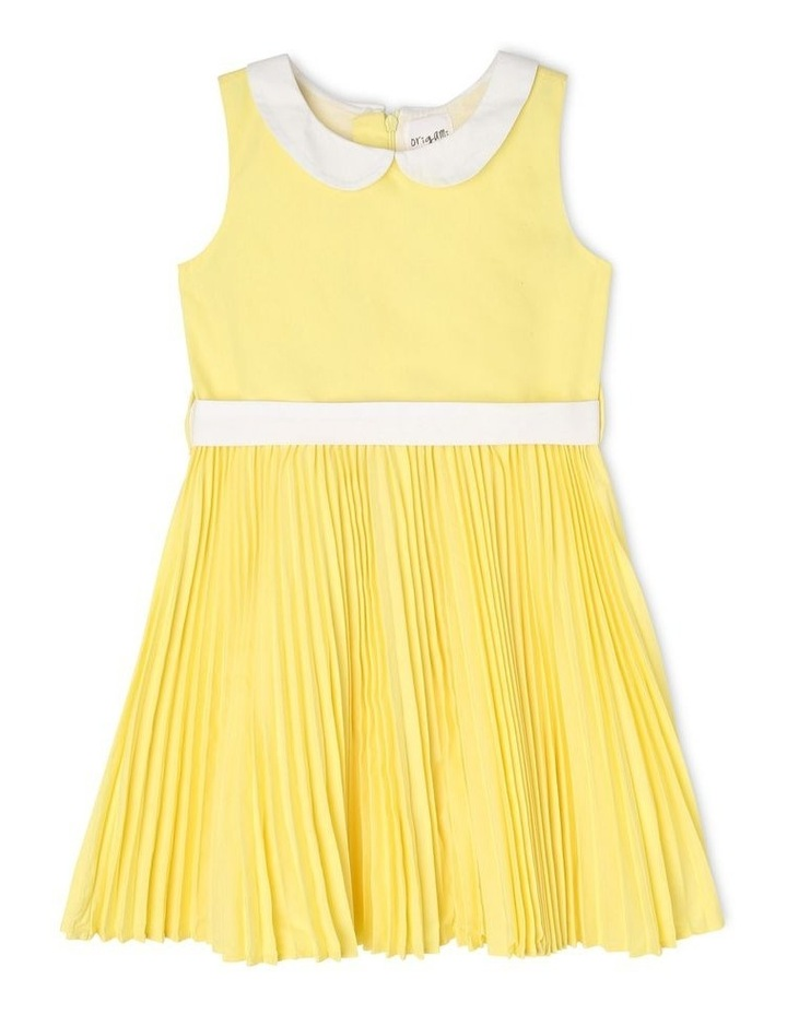 Emily Collar Pleat Dress (3-8 Years) image 1