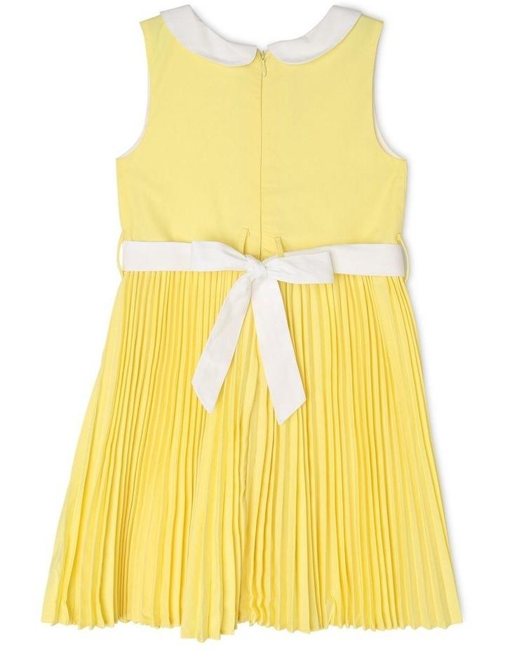Emily Collar Pleat Dress (3-8 Years) image 2