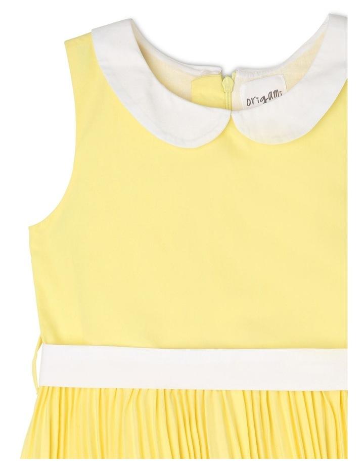 Emily Collar Pleat Dress (3-8 Years) image 3
