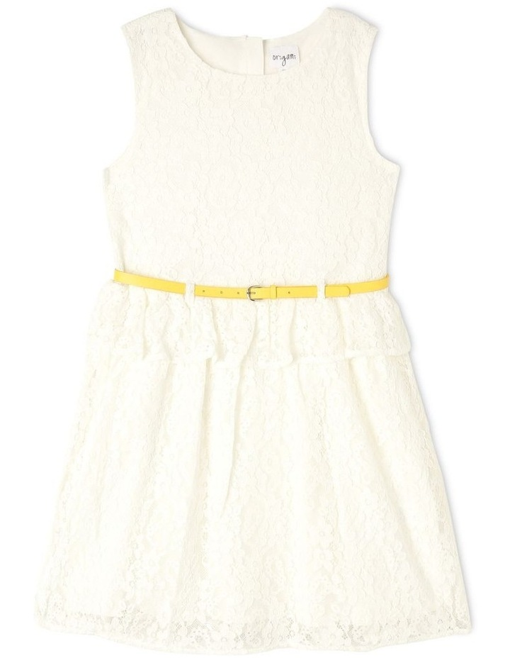 Lucy Lace Peplum Dress (9-16 years) image 1