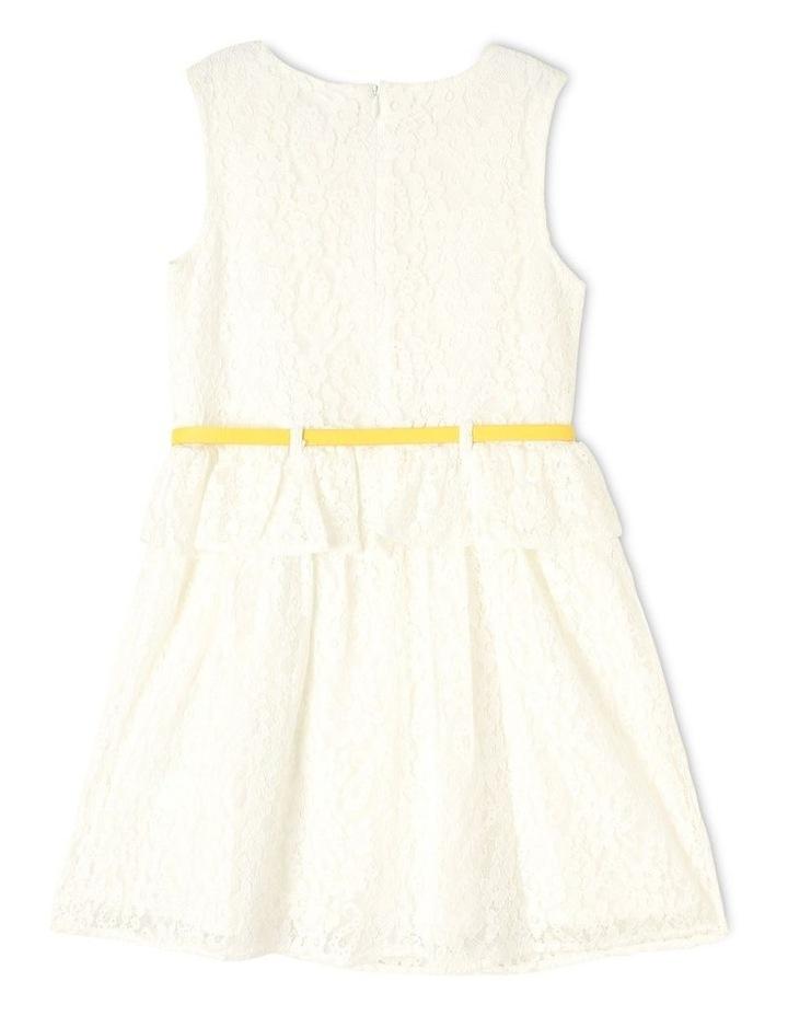 Lucy Lace Peplum Dress (9-16 years) image 2