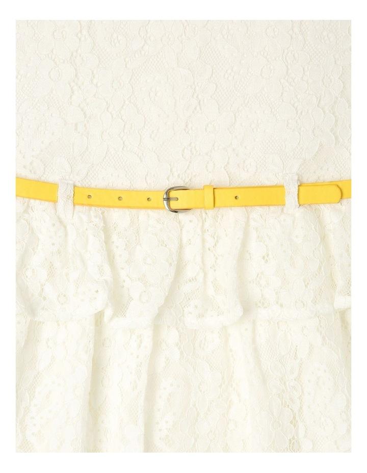 Lucy Lace Peplum Dress (9-16 years) image 3