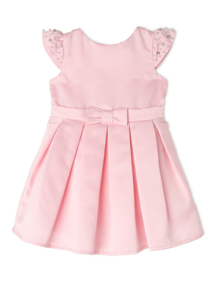 Georgia Satin Party Dress (0-2 Years) image 1