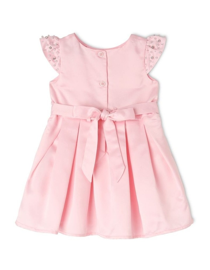 Georgia Satin Party Dress (0-2 Years) image 2