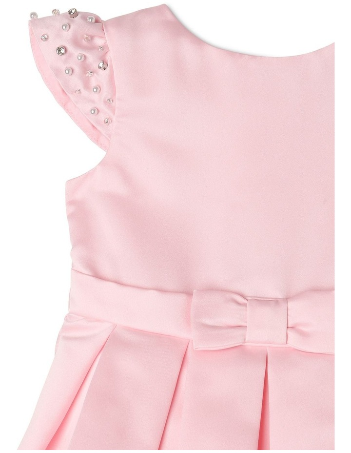 Georgia Satin Party Dress (0-2 Years) image 3