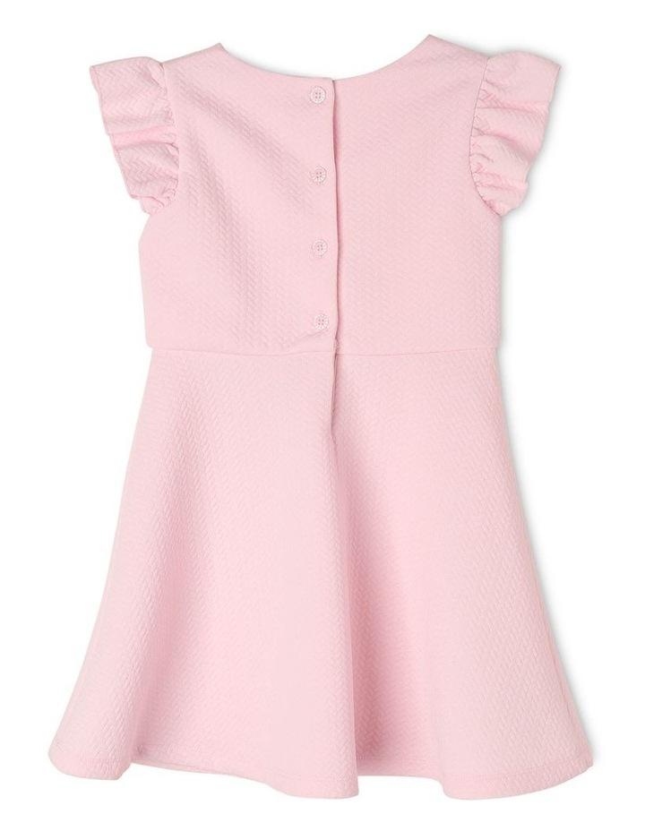 Ava Pink Knit Dress (3-8 Years) image 2