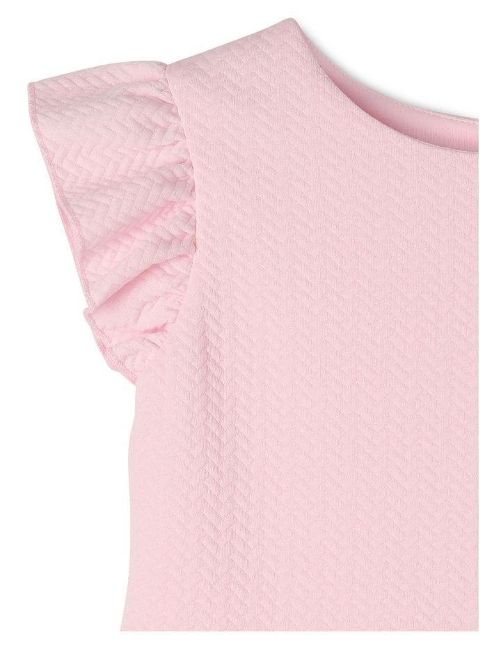 Ava Pink Knit Dress (3-8 Years) image 3