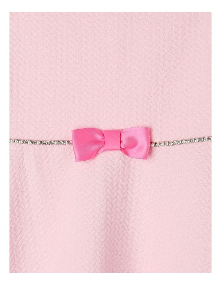 Ava Pink Knit Dress (3-8 Years) image 4
