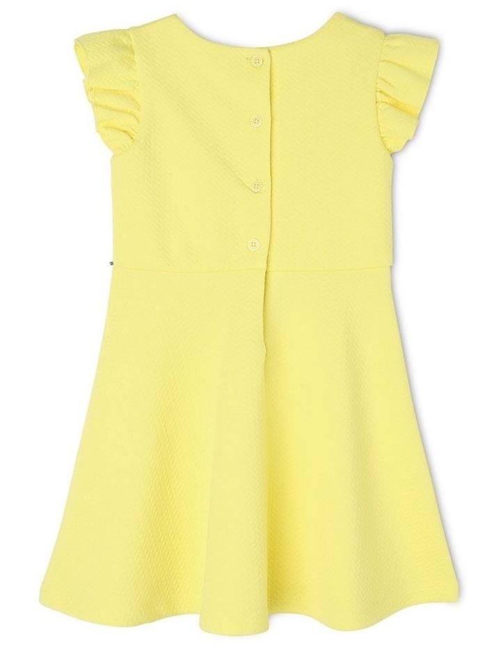 Ava Yellow Knit Dress (3-8 Years) image 2