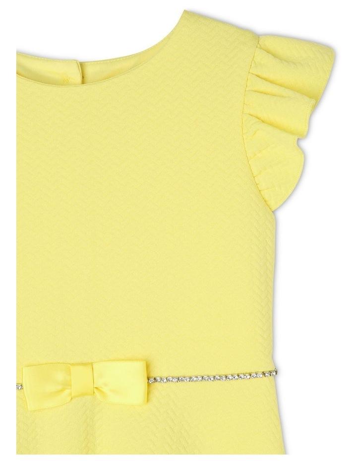 Ava Yellow Knit Dress (3-8 Years) image 3