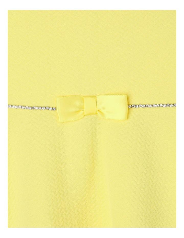 Ava Yellow Knit Dress (3-8 Years) image 4