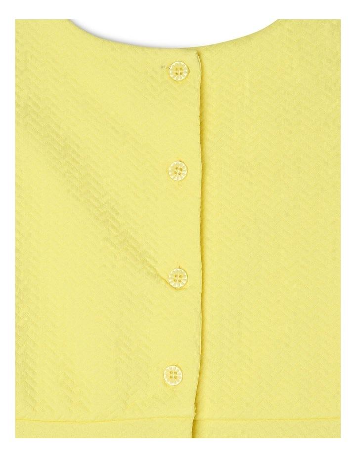 Ava Yellow Knit Dress (3-8 Years) image 5