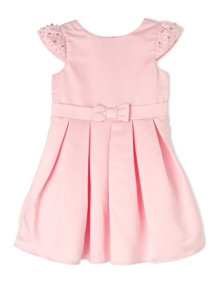 Georgia Satin Party Dress (3-8 Years) image 1