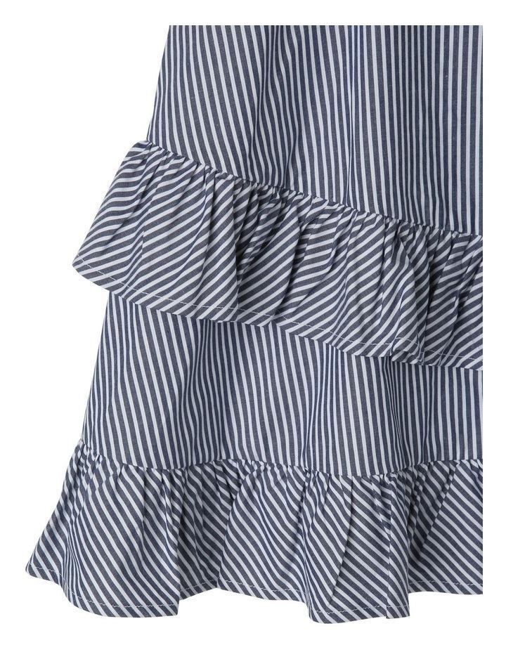 Emma Poplin Stripe Dress (9-16 Years) image 3