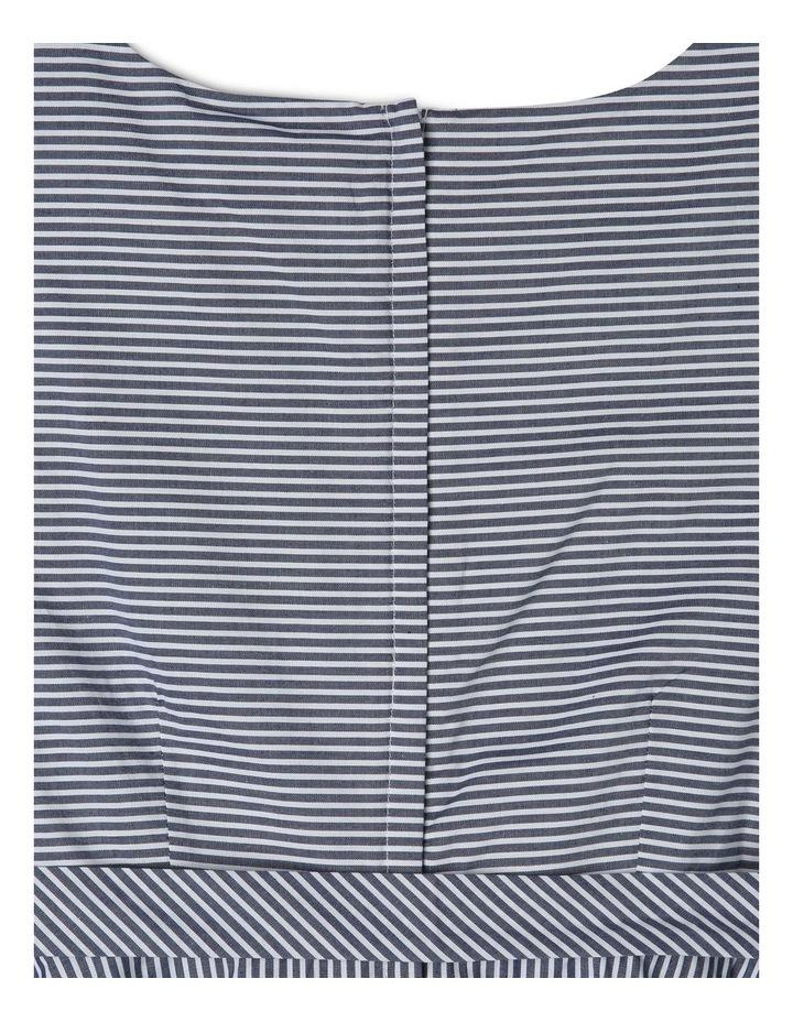 Emma Poplin Stripe Dress (9-16 Years) image 4