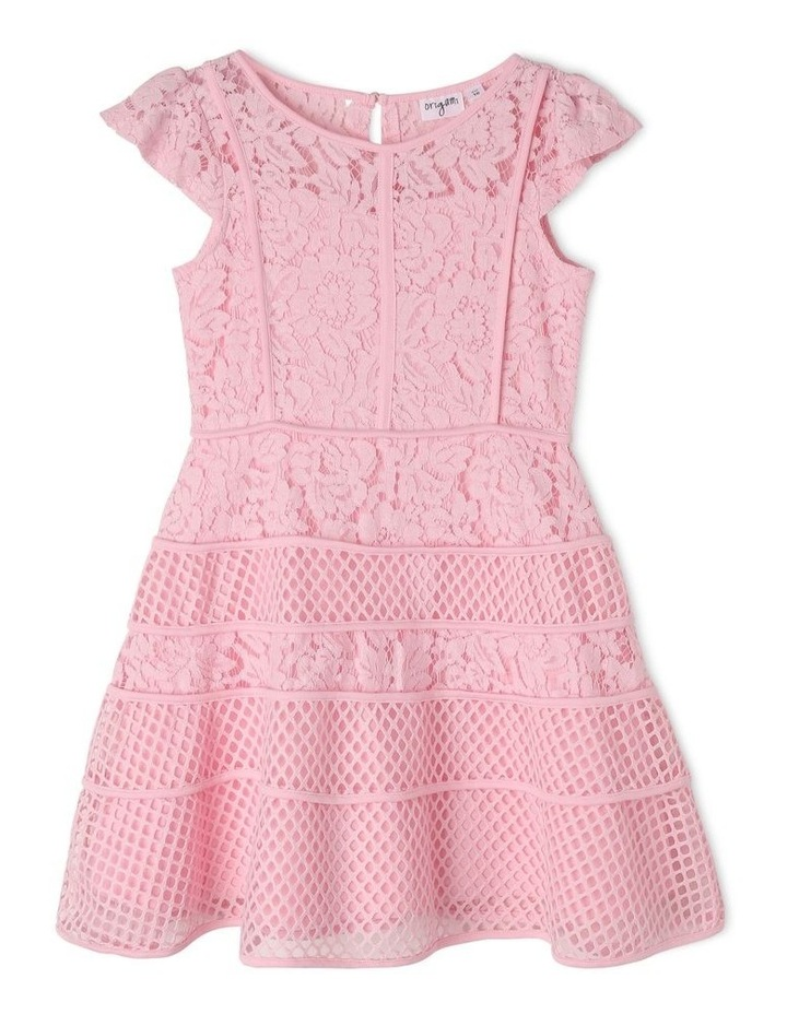 Olivia Flutter Sleeve Dress (9-16 Years) image 1