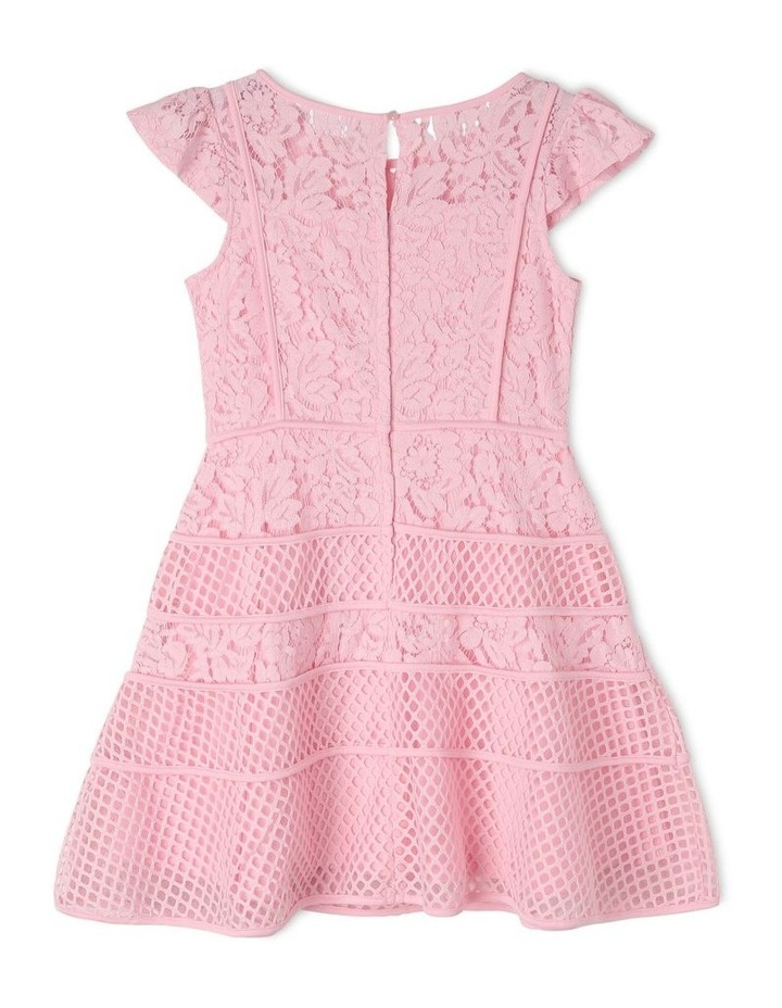 Olivia Flutter Sleeve Dress (9-16 Years) image 2
