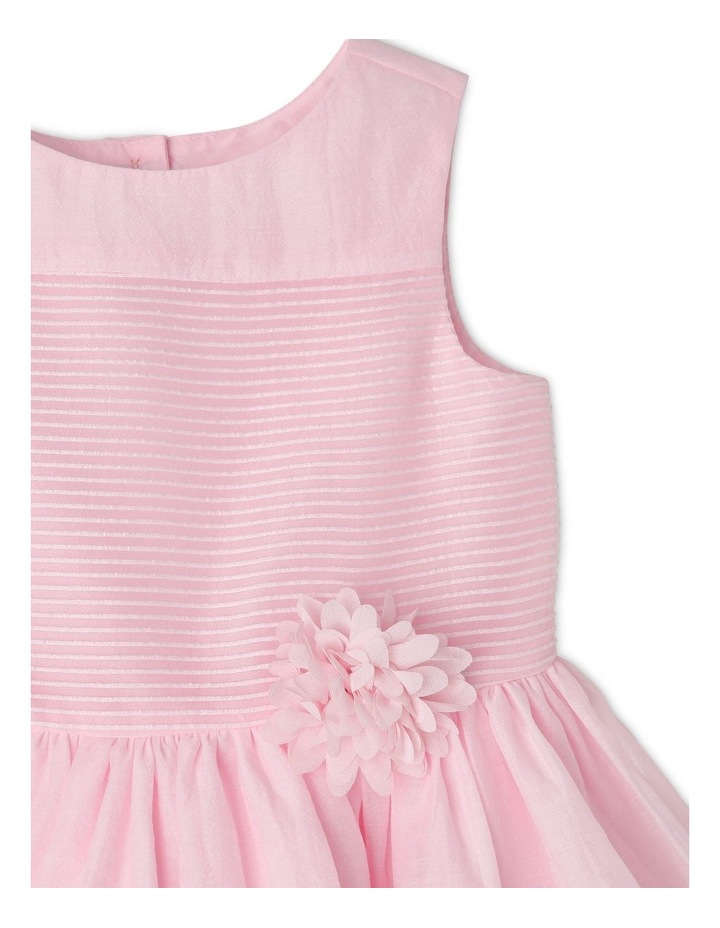 Georgia Woven Stripe Dress (0-2 Years) image 3