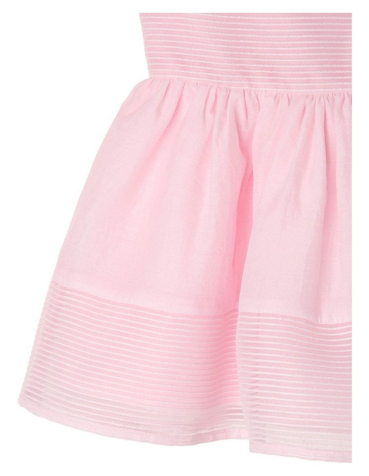 Georgia Woven Stripe Dress (0-2 Years) image 4