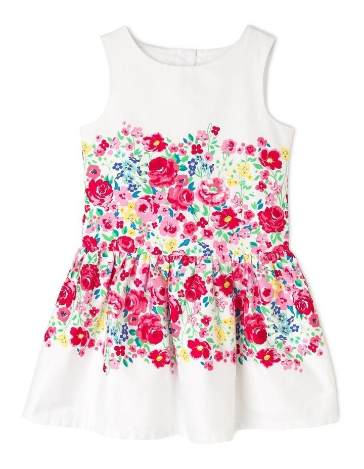 Layla Woven Drop Waist Dress (3-8 Years) image 1