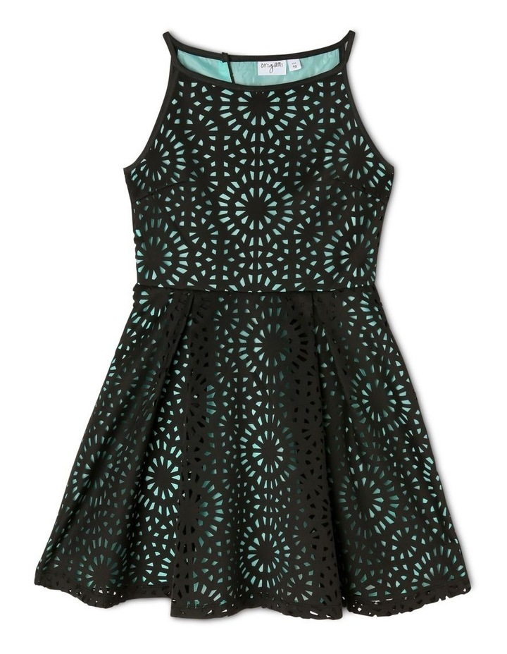 Lucy Woven Laser Cut Dress (9-16 Years) image 1