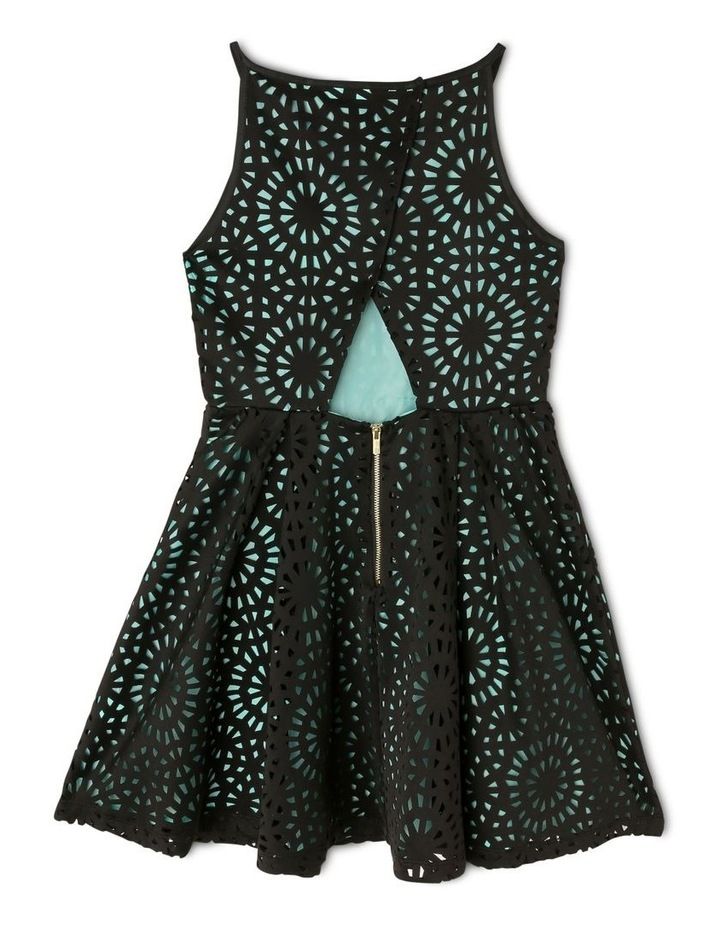 Lucy Woven Laser Cut Dress (9-16 Years) image 2