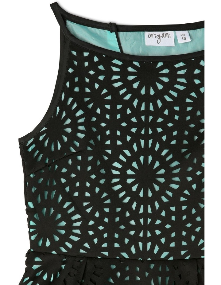 Lucy Woven Laser Cut Dress (9-16 Years) image 3